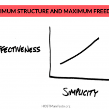 Minimum Structure and Maximum Freedom
